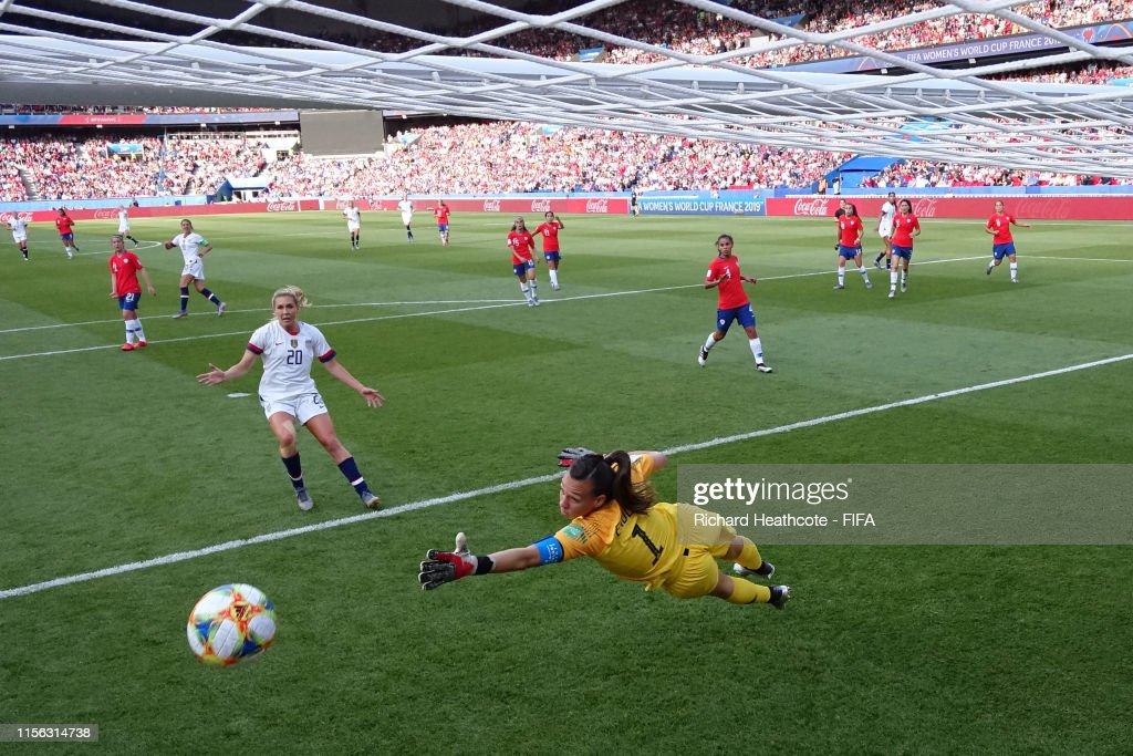 USA v Chile: Group F - 2019 FIFA Women's World Cup France : ニュース写真