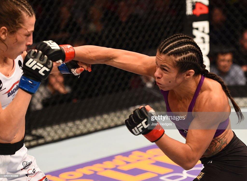 UFC Fight Night - Gadelha v Jedrzejczyk : News Photo