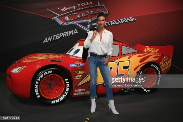 Claudia Galanti attends Cars 3 photocall in Milan on September 11 2017 in Milan Italy