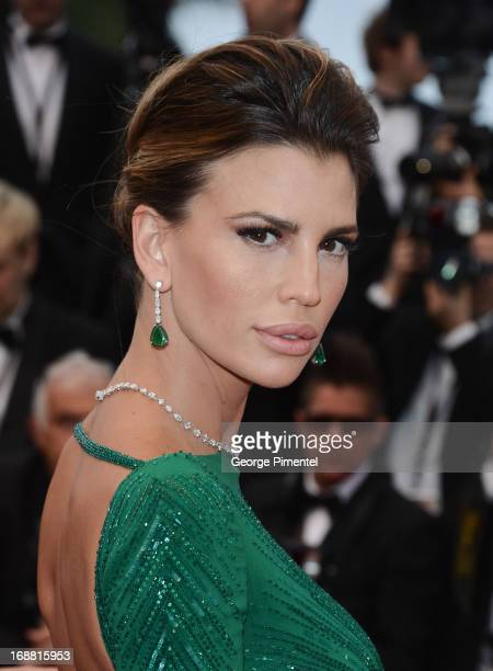 Claudia Galanti attends the Opening Ceremony and Premiere of 'The Great Gatsby' at The 66th Annual Cannes Film Festival at Palais des Festivals on...