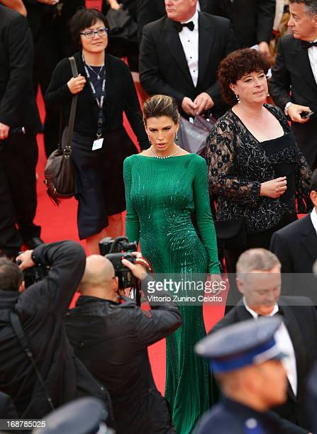 Claudia Galanti attends the Opening Ceremony and 'The Great Gatsby' Premiere during the 66th Annual Cannes Film Festival at the Theatre Lumiere on...