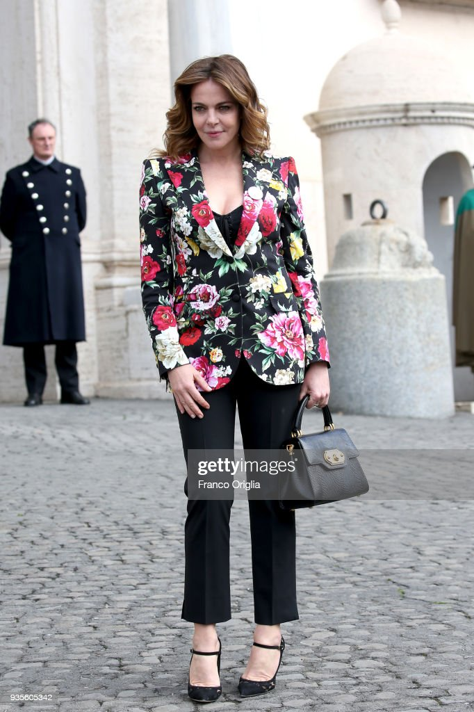 62. David Di Donatello - Nominees Arrivals At Quirinale