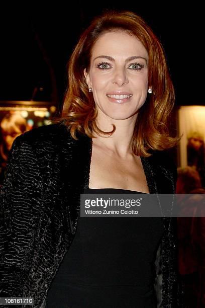 Claudia Gerini attends the 'Ritratto Di Mio Padre' premiere during the 5th Rome International Film Festival on October 27 2010 in Rome Italy