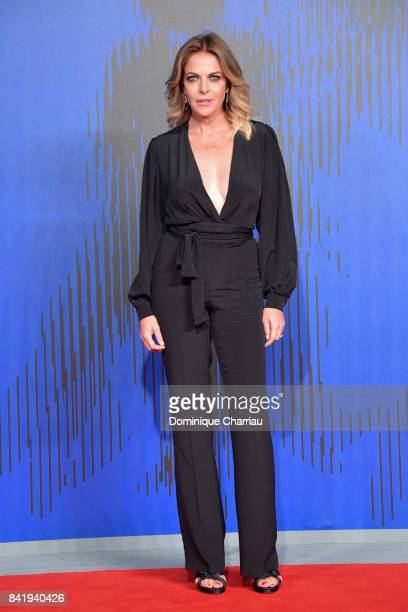 Claudia Gerini attends the 'Suburra The Series' premiere during the 74th Venice Film Festival on September 2 2017 in Venice Italy