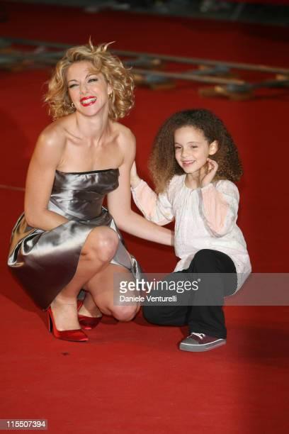 Claudia Gerini Clara Dossena during 1st Annual Rome Film Festival 'La Sconosciuta' Premiere in Rome Italy
