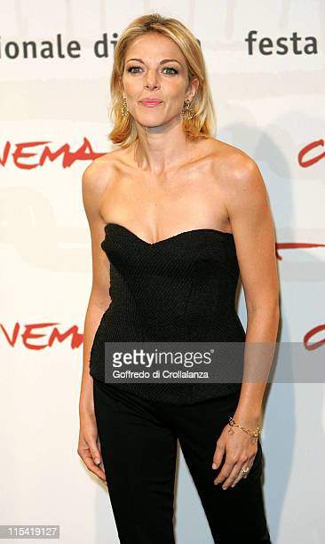 Claudia Gerini during 1st Annual Rome Film Festival Sconosciuta Photocall in Rome Italy