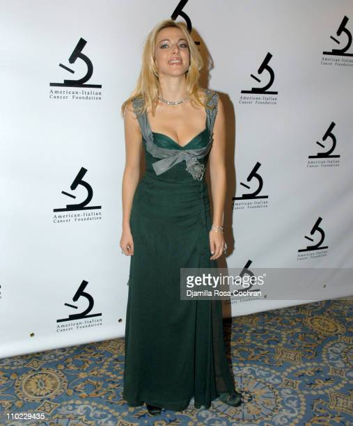 Claudia Gerini during AmericanItalian Cancer Foundation Gala at The Pierre Hotel in New York City New York United States