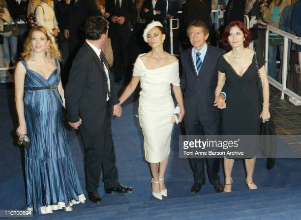 Claudia Gerini Sergio Castellitto Penelope Cruz and guests