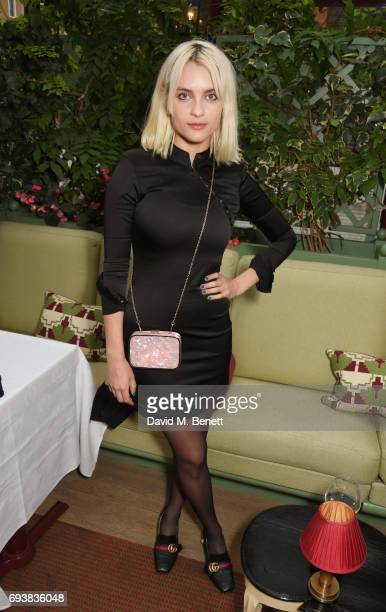 Claudia Gould attends the London Fashion Week Men's 5th Anniversary party and the launch of 'London Sartorial Men's Style from Street To Bespoke' by...