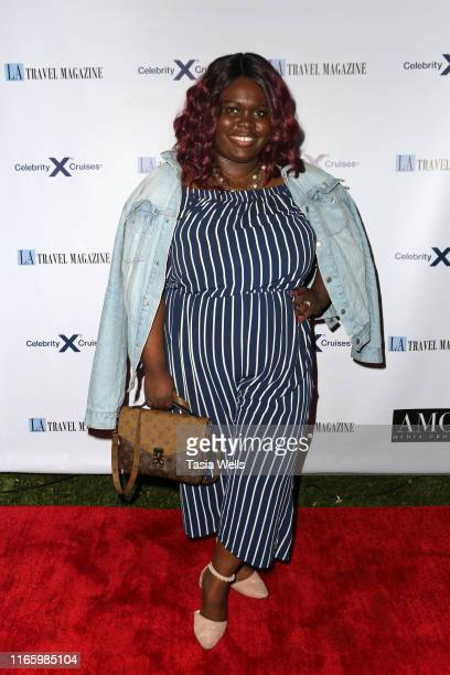 Claudia Greene attends Los Angeles Travel Magazine's Endless Summer Issue Release Party at Penthouse on August 02, 2019 in West Hollywood, California.
