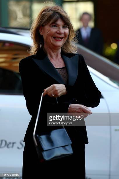 Claudia Halmer poses during the Steiger Award at Coal Mine Hansemann 'Alte Kaue' on March 25 2017 in Dortmund Germany
