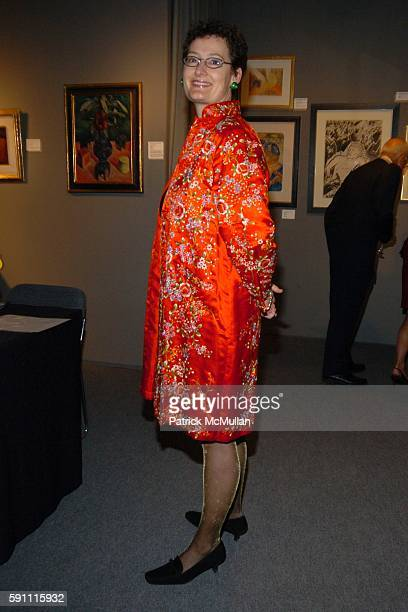 Claudia Hess attends The Art Show Gala to Benefit The Henry Street Settlement at The Seventh Regiment Armory on February 23 2005 in New York City