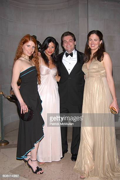 Claudia Hinojosa Kathleen Brennan Bryan Beller and Jennifer Binder attend The Frick Annual Young Fellows Ball at The Frick on March 1 2007 in New...