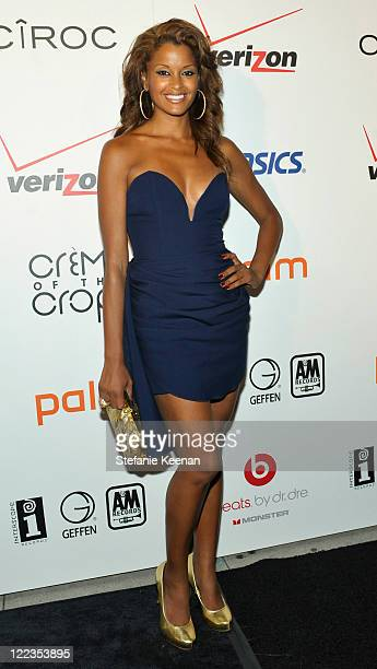 Claudia Jordan arrives at the 'Creme of the Crop' Dinner sponsored by Asics at Mr Chow on June 27 2010 in Beverly Hills California