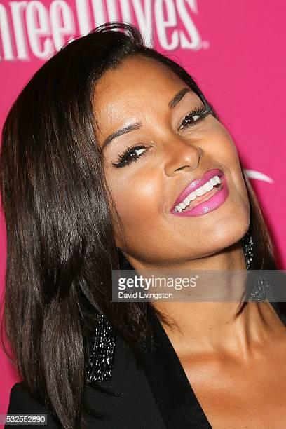 Claudia Jordan arrives at the OK Magazine's So Sexy LA at the Skybar at Mondrian on May 18 2016 in West Hollywood California