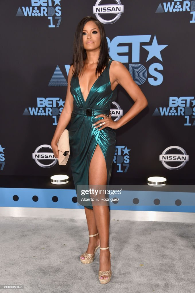 Claudia Jordan at the 2017 BET Awards at Microsoft Square on June 25, 2017 in Los Angeles, California.