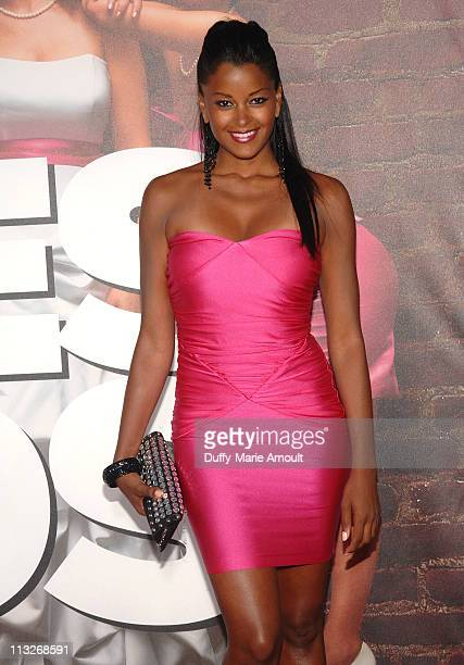 Claudia Jordan attends Bridesmaids Los Angeles Premiere at Mann Village Theatre on April 28 2011 in Westwood California