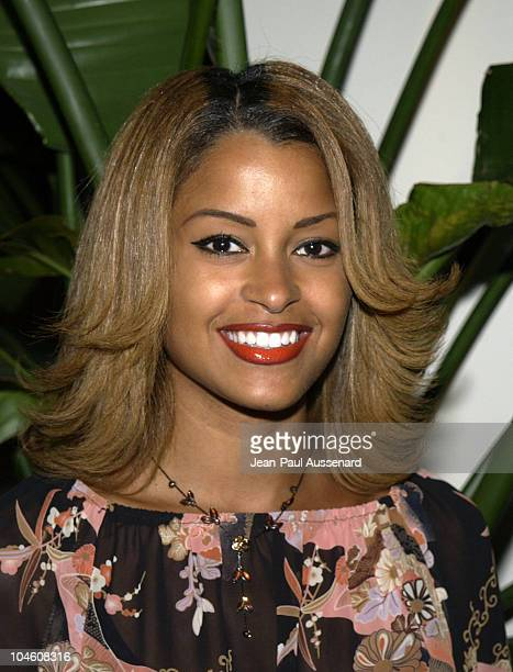 Claudia Jordan during A List Party Night at Le Meridien at Le Meridien Hotel in Beverly Hills California United States