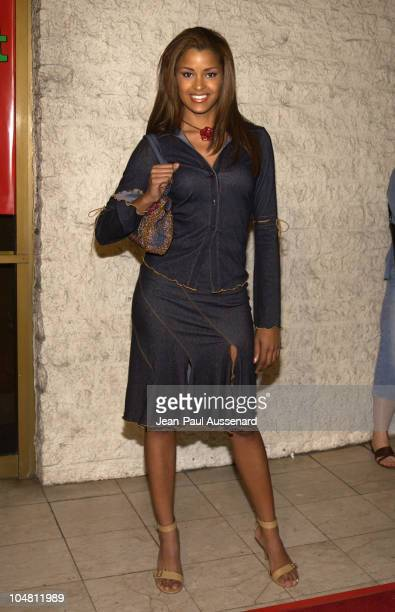 Claudia Jordan during Friday After Next Premiere Arrivals at Mann National in Westwood California United States