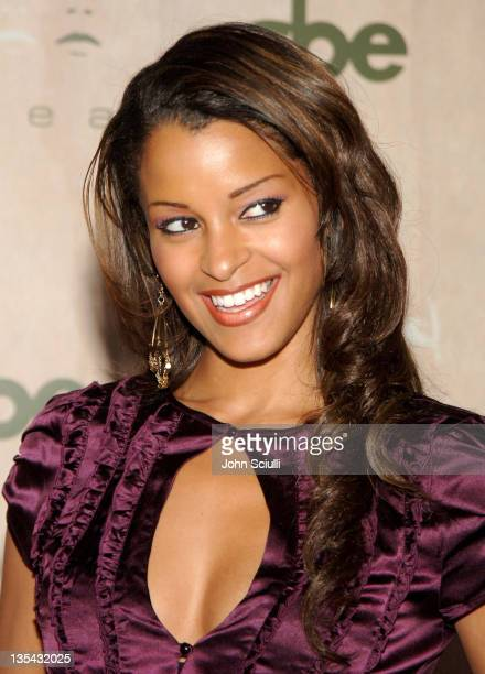 Claudia Jordan during Grand Opening of SBE's AREA Nightclub Arrivals at Area in Hollywood California United States
