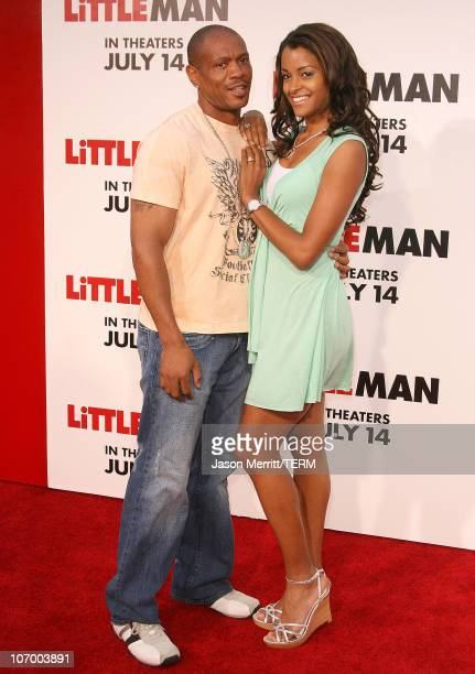 Claudia Jordan during Little Man Los Angeles Premiere Arrivals at Mann National Theatre in Westwood California United States