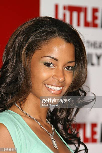 Claudia Jordan during Little Man Los Angeles Premiere Arrivals at Mann National Theater in Westwood California United States