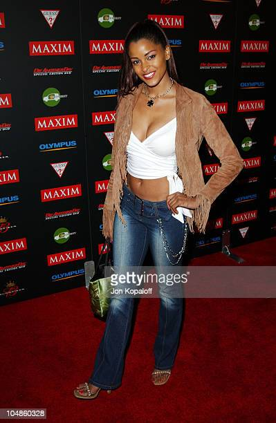 Claudia Jordan during Maxim Magazine's Annual Hot 100 Party at 1400 Ivar in Hollywood CA United States