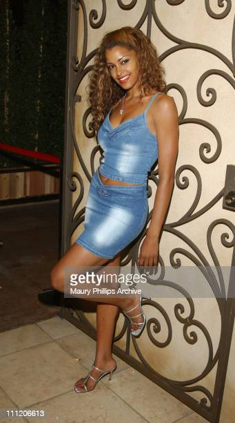 Claudia Jordan during Unleashed Magazine Release Party at The Highlands in Hollywood California United States