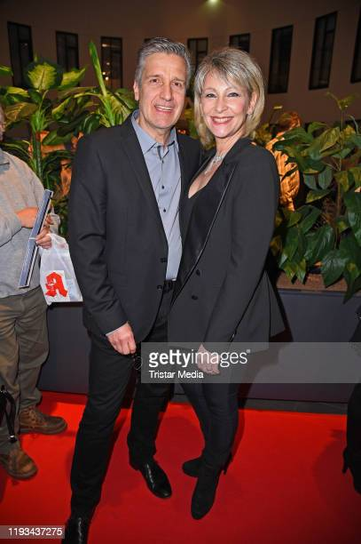 Claudia Jung and her husband Hans Singer attend the Smago Award 2020 at Mercure Hotel Moa on January 12 2020 in Berlin Germany