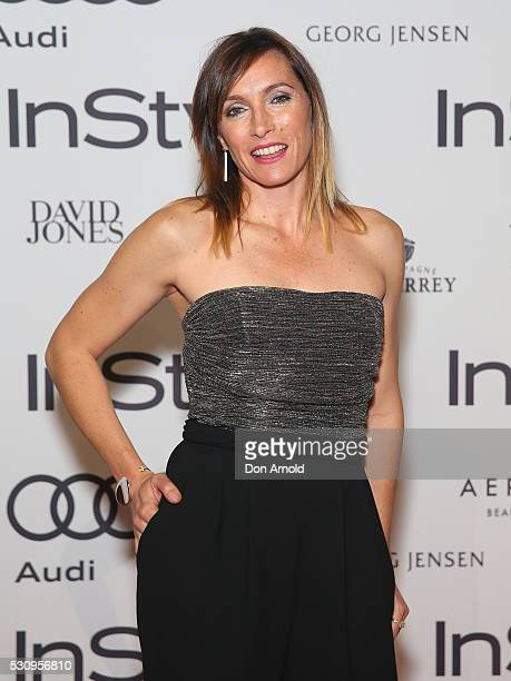 Claudia Karvan arrives ahead InStyle and Audi Women of Style Awards at The Star on May 12 2016 in Sydney Australia