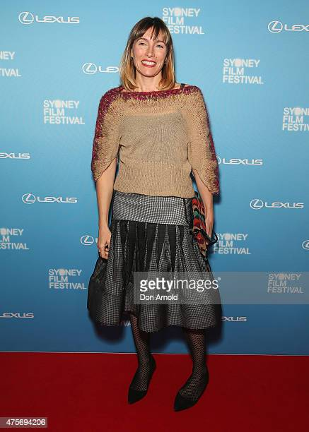 Claudia Karvan arrives at the Sydney Film Festival Opening Night Gala at the State Theatre on June 3 2015 in Sydney Australia