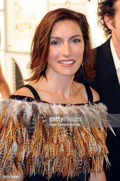 Claudia Karvan arrives for the 6th Annual ASTRA Awards at the Hordern Pavilion on April 21 2008 in Sydney Australia