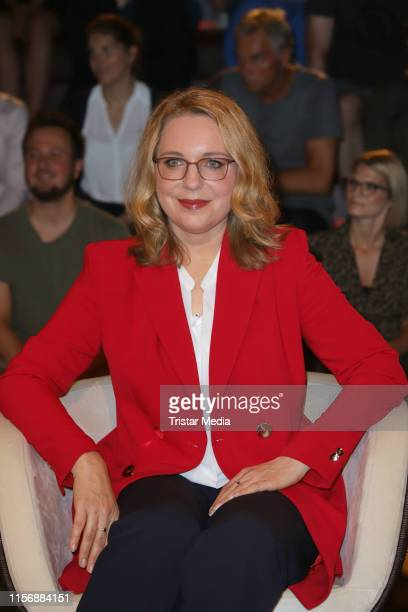 Claudia Kemfert during the Markus Lanz TV show on June 18 2019 in Hamburg Germany