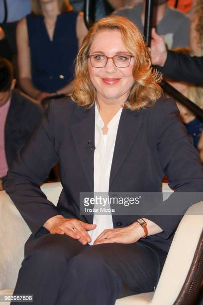 Claudia Kemfert during the TV show 'Markus Lanz' on May 30 2018 in Hamburg Germany