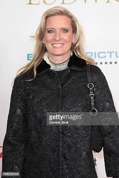Claudia Kleinert attends Ludwig II Germany Premiere at Mathaeser Filmpalast on December 13 2012 in Munich Germany