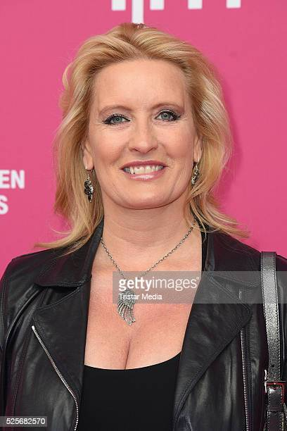 Claudia Kleinert attends the Telekom Entertain TV Night at Hotel Zoo on April 28 2016 in Berlin Germany
