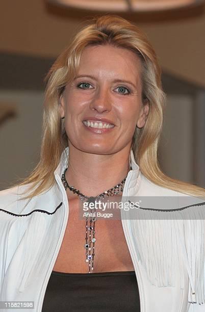 Claudia Kleinert during Photocall for Deutschland wählt das Traumpaar at Studios Adlershof in Berlin Berlin Germany