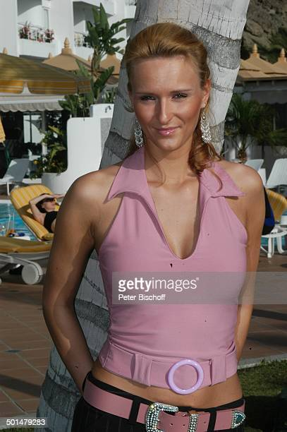 Claudia Königshaus Hotel Dunas La Canaria Maspalomas Insel Gran Canaria Kanarische Insel Spanien Europa Pool Model Schönheitskönigin Promi BB DIG PNr...