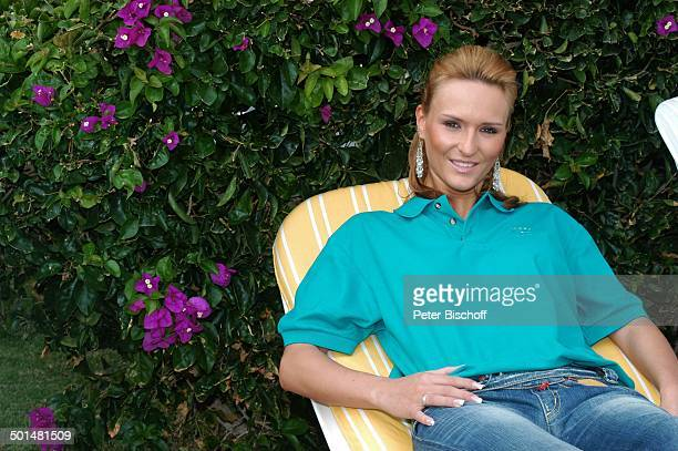 Claudia Königshaus Hotel Dunas La Canaria Maspalomas Insel Gran Canaria Kanarische Insel Spanien Europa Model Schönheitskönigin Promi BB DIG PNr...