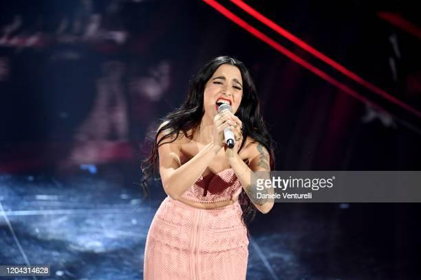 Claudia Lagona aka Levante attends the 70° Festival di Sanremo at Teatro Ariston on February 05 2020 in Sanremo Italy