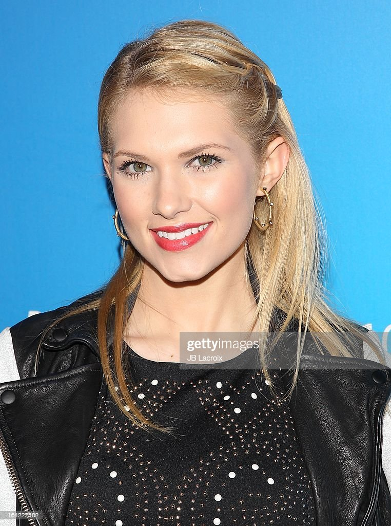 Claudia Lee attends the BlackBerry Z10 Smartphone launch party held at at Cecconi's Restaurant on March 20, 2013 in Los Angeles, California.