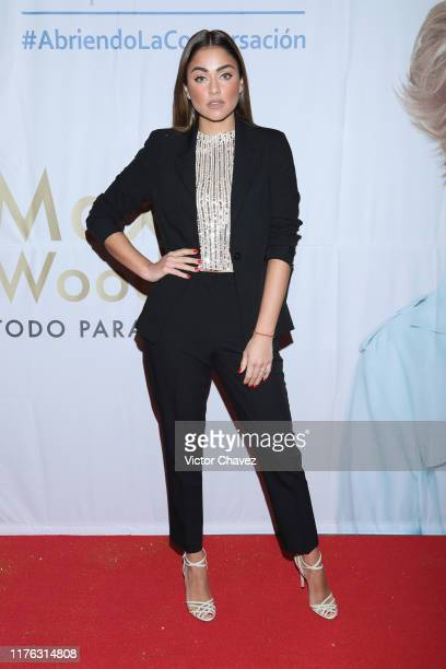 Claudia Martin attends the Todo Para La Mujer 30th Anniversary Red Carpet at Live Aqua hotel on October 16 2019 in Mexico City Mexico