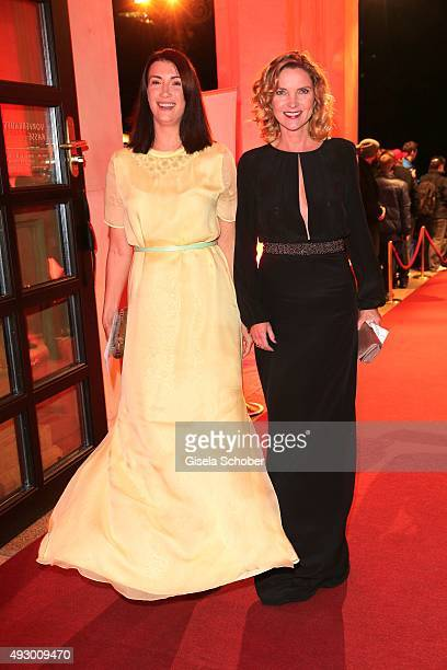 Claudia Mehnert and Susanne Paetzold the Hessian Film and Cinema Award 2015 at Alte Oper on October 16 2015 in Frankfurt am Main Germany