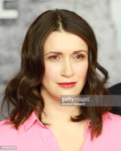 Claudia Mehnert attends the premiere of the 4th season of the German TV series 'Weissensee' on May 2 2018 in Berlin Germany