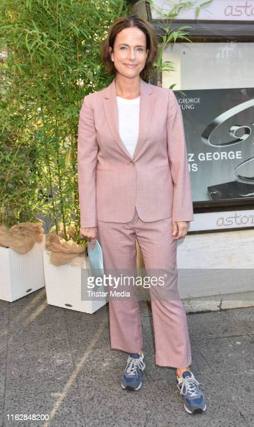 Claudia Michelsen attends the Goetz George Award at Astor Film Lounge on August 19 2019 in Berlin Germany