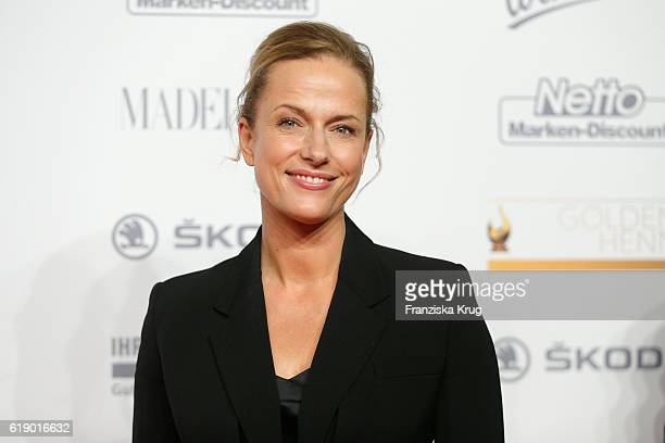 Claudia Michelsen attends the Goldene Henne on October 28 2016 in Leipzig Germany