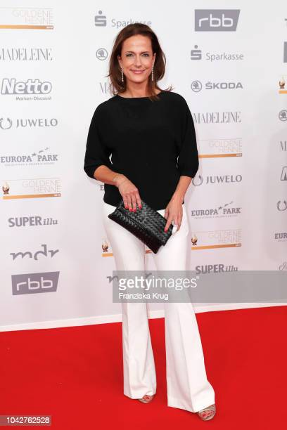 Claudia Michelsen attends the Goldene Henne on September 28 2018 in Leipzig Germany