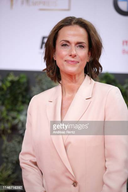Claudia Michelsen attends the Lola German Film Award red carpet at Palais am Funkturm on May 03 2019 in Berlin Germany