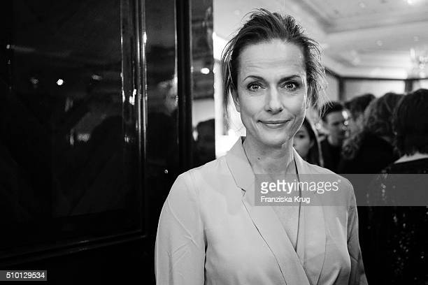 Claudia Michelsen attends the Medienboard BerlinBrandenburg Reception on February 13 2016