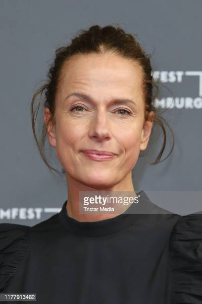 Claudia Michelsen attends the premiere of Auf dem Grund during the Hamburg Film Festival on September 28 2019 in Hamburg Germany